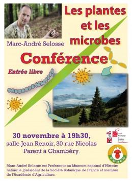 """Image de l'actualité Conférence : """"Les plantes et les microbes"""""""