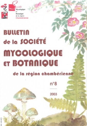 Couverture du Bulletin SMBRC n°8
