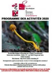 Programme des activités 2020